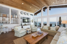 Open Living Spaces with ocean views